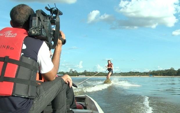 Esportes aquáticos são destaque no programa (Foto: Zappeando)