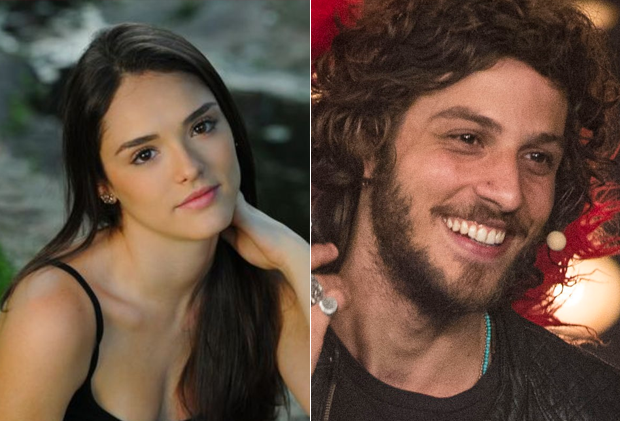 Isabelle Drummond e Chay Suede (Foto: Reprodução/Instagram / Globo / Mauricio Fidalgo)