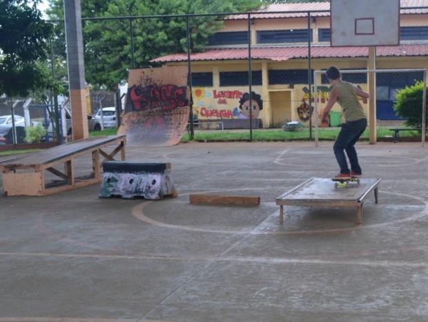 Casa do Hip Hop é um dos exemplos positivos em centros comunitários - Piracicaba (Foto: Thomaz Fernandes/G1)