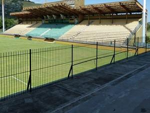 Estádio de Los Larios (Foto: Vitor Costa/Duque de Caxias FC)
