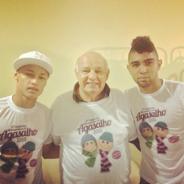 Gabriel, Neilton e Pepe, Santos (Foto: Reprodução  / Instagram)