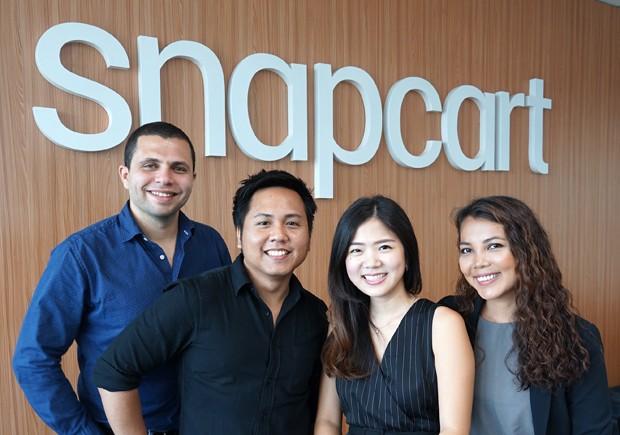 Fundadores da Snapcart (Foto: Divulgação)