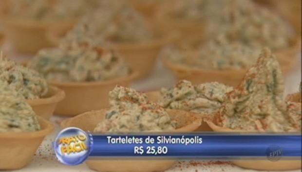 Prato Fácil: aprenda como fazer uma tortinha de queijo de cabra e tomate seco (Foto: Reprodução)
