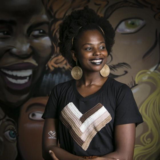 Luana Génot luta para melhoras condições de trabalhos dos negros em empresas (Foto: Divulgação)