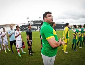 Costa Rica x Seleção de Amigos do Guaraná, Ronaldo (Foto: Divulgação)