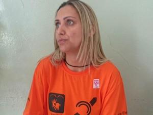 Meire é uma das intérpretes de libras nas eleições em Sorocaba (Foto: Ana Carolina Levorato / G1)