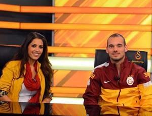 Wesley Sneijder turquia (Foto: Divulgação)