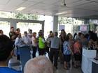 Clientes lotam agências no 1º dia de abertura de bancos após greve no AM
