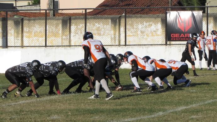 Ceará, Fênix, Caçadores, futebol, americano, Murilão (Foto: Juscelino Filho)