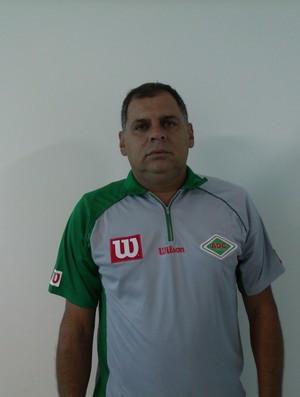 Toninho Andrade, novo técnico da Cabofriense (Foto: Andreia Maciel/Divulgação)