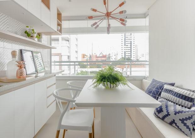10 salas de jantar pequenas para se inspirar casa vogue for Salas modernas pequenas para apartamentos