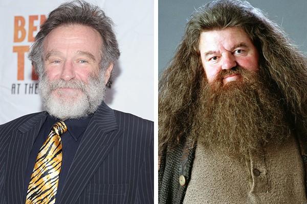 Robin Williams perdeu o papel de Rubeus Hagrid para Robbie Coltrane (Foto: Getty Images / Reprodução)
