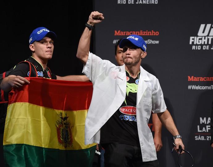 pesagem UFC - Bentley (Foto: André Durão)