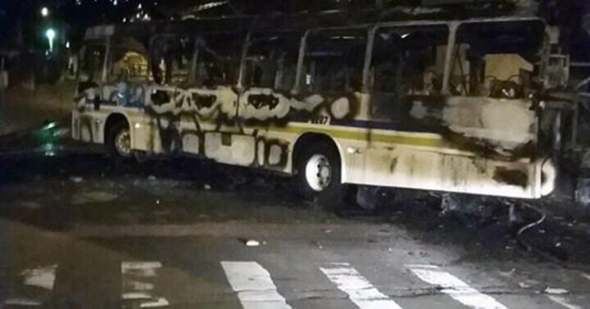 Polícia identifica dois suspeitos de atear fogo em ônibus em Porto ... - Globo.com