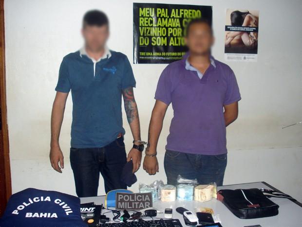 Presos ladrões de banco em salvador (Foto: Divulgação/Polícia Civil)