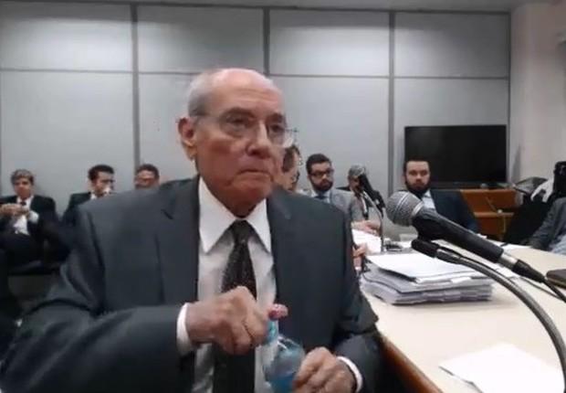Glauco da Costamarques, primo de José Carlos Bumlai, presta depoimento na Lava Jato (Foto: Reprodução/YouTube)