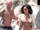 Aos 41 anos, ex-'Spice Girl' Mel B mostra boa forma em Ibiza