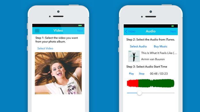 App coloca música customizada do iTunes em vídeos (Foto: Divulgação/iTunes)