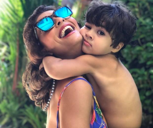 Juliana fez homenagem para o caçula, Antônio (Foto: Reprodução/ Instagram)
