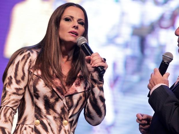Viviane Araújo em premiação na Zona Sul do Rio (Foto: Marcello Sá Barretto/ Ag. News)