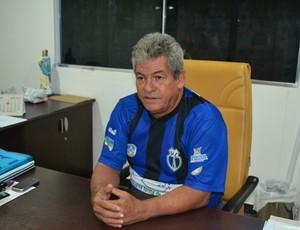 Tupã Duarte, técnico Ypiranga/AP temporada 2013 (Foto: Jonhwene Silva/GE-AP)