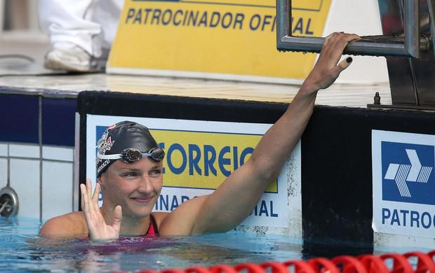Katinka Hosszú  Troféu Maria Lenk 2014 natação (Foto: Satiro Sodré/CBDA)