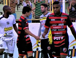Ceará, Guarany de Sobral, Campeonato Cearense, Junco (Foto: Reprodução / TV Verdes Mares)