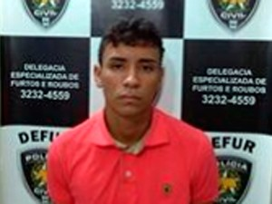 Kevin Pereira Damasceno (Foto: Divulgação/Polícia Civil do RN)