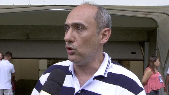 Presidente Francisco Marino do Rondonópolis (Foto: Reprodução/TVCA)