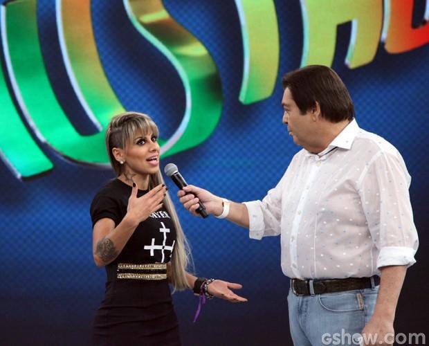 Vanessa diz que posaria nua por Clara (Foto: Carol Caminha / TV Globo)