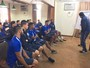 """Mesmo com derrota, Magela ressalta chutes a gol: """"É para soltar a perna"""""""