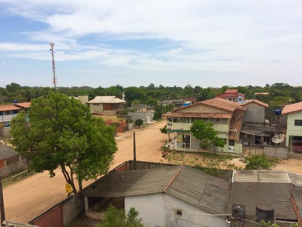 A vila de Regência, distrito de Linhares, no ES (Foto: Flávia Mantovani/G1)