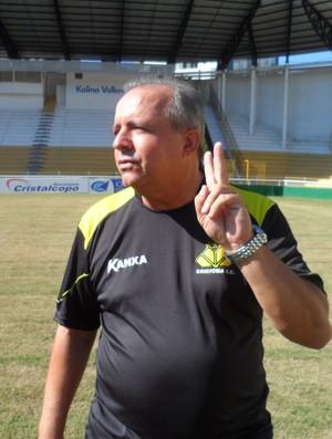 Vadão técnico Criciúma (Foto: João Lucas Cardoso)