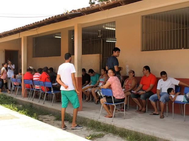Mutirão de consultas ambulatoriais em trauma-ortopedia atendeu mais de 300 pessoas em Icoaraci (Foto: Agência Pará)