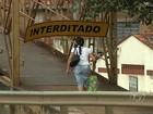 Interdição de passarela surpreende pedestres na BR-153, em Goiânia