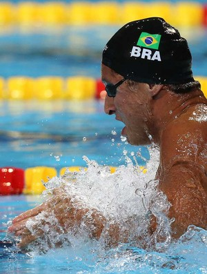 Felipe Lima natação (Foto: Satiro Sodré/Agif)