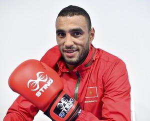 Hassan Saada boxeador marroquinho Rio 2016 (Foto: AFP)