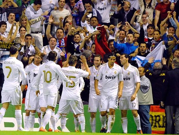 Comemoração, Atletico de Bilbao x Real Madrid (Foto: Reuters)