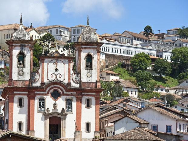 A cidade histórica de Ouro Preto, em Minas Gerais (Foto: Guiziou Franck / Hemis.Fr/AFP)