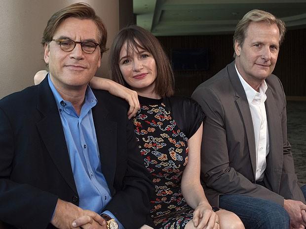 Aaron Sorkin, roteirista de biografia sobre Steve Jobs, lança sua nova série nos EUA  (Foto: Keith Bedford/Reuters )