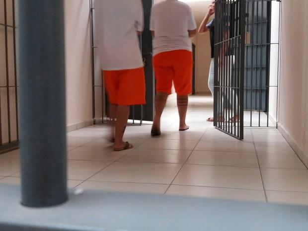 Nove detentas foram transferidas para novo presídio em Lajeado (Foto: Nádia Strate/RBS TV)
