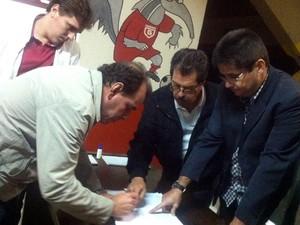 Conselho Diretor Guarani-MG Biênio 2014/2016 eleição (Foto: Natalia Santos/Guarani-MG)