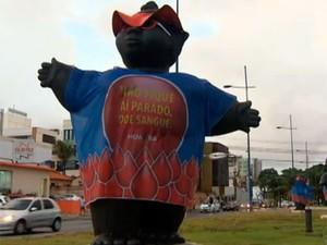 Dia Nacional do Doador Voluntário de Sangue é celebrado nesta segunda-feira (25) (Foto: Imagens/TV Bahia)