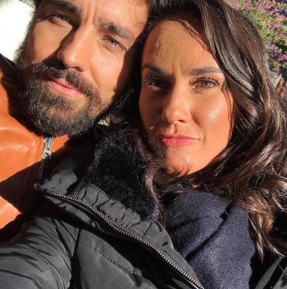 Ricardo Pereira com a mulher, Francisca (Foto: Reprodução Instagram)