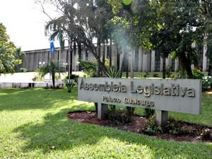 Prédio da Assembleia Legislativa de Mato Grosso do Sul (Foto: Fernando da Mata/G1 MS)