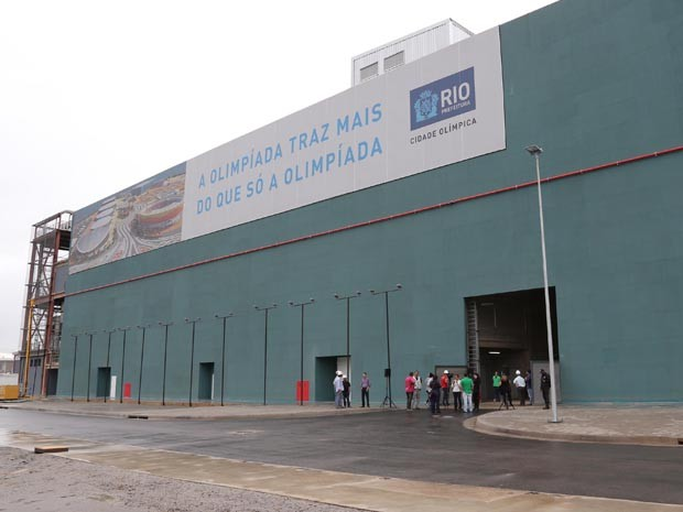Prédio do IBC foi entregue neste domingo(8)  (Foto: Divulgaçã/ Ricardo Cassiano/Prefeitura do Rio)