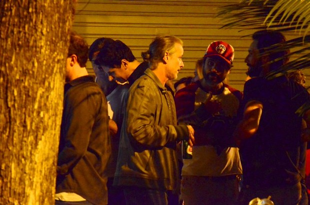 Rodrigo Santoro, Eriberto Leão, Marcelo Serrado e Marcelo Novaes (Foto: Henrique Oliveira / Ag News)