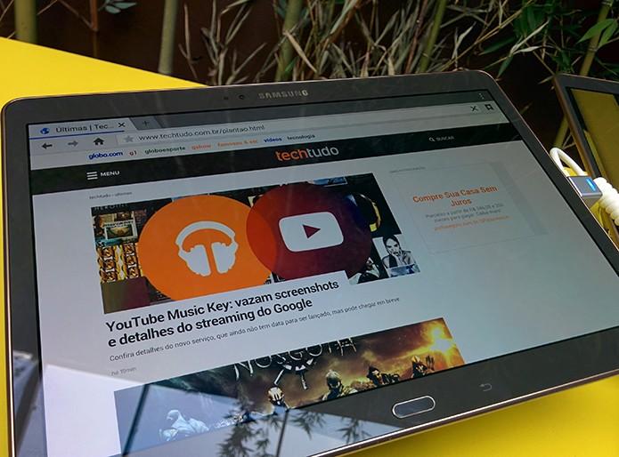 Desempenho agradou apesar de usar um processador lançado em 2013 (Foto: Paulo Alves/TechTudo)
