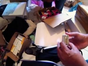 Polícia Civil prende grupo que vendia remédios controlados pela internet (Foto: Reprodução/TV TEM)