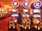 Mayra Cardi posa em Las Vegas